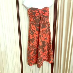 Tommy Bahama Floral Halter Dress Sz XS